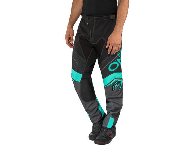 O'Neal Mayhem Lite Pantalones Hombre, blocker-black/gray/teal